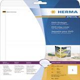 Herma 25 DVD-Einleger A4 weiß 273x183 mm Karton Leerhülle für Aufbewahrung (5037)