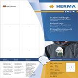 Herma Anhäng. reißfest A4 52,5x93,5 mm weiß perf. 1200 St.