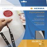 Herma Fotokarton 230 x 297 mm schwarz 10 Blatt