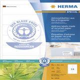 Herma 10826 Adressetiketten 9.91x3.81 cm (100 Blatt (1400 Etiketten))