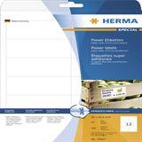Herma 10907 stark haftend Universal-Etiketten 9.7x4,23 cm (25 Blatt (300 Etiketten))