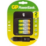 GP Batteries Power Bank 550 Tischlader inkl