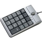 Ione Scorpius N4 U Keypad und Maus USB silber/schwarz