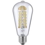 Segula LED Glühlampe 470 Rustika Ambiente Klar E27 A+