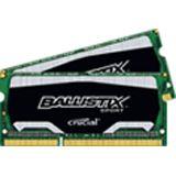 16GB Crucial Ballistix DDR3L-1866 SO-DIMM CL10 Dual Kit