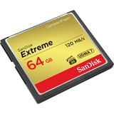 64 GB SanDisk Extreme 120MB/s Compact Flash TypI 800x Retail