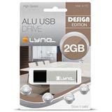 2 GB xlyne schwarz/silber USB 2.0