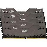 16GB TeamGroup Dark Series grau DDR4-3000 DIMM CL16 Quad Kit