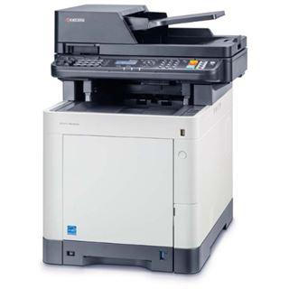 Kyocera Ecosys M6530cdn Farblaser Drucken/Scannen/Kopieren/Faxen Cardreader/LAN/USB 2.0