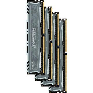 32GB Crucial Ballistix Sport LT Dual Rank grau DDR4-2400 DIMM CL16 Quad Kit