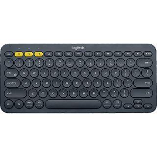 Logitech K380 Bluetooth Deutsch dunkelgrau (kabellos)
