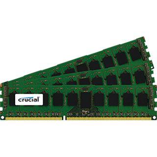 24GB Crucial CT3K8G3ERSDD8186D DDR3-1866 regECC DIMM CL13 Tri Kit