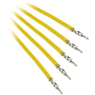 BitFenix Alchemy 2.0 PSU Cable, 5x 60cm - gelb