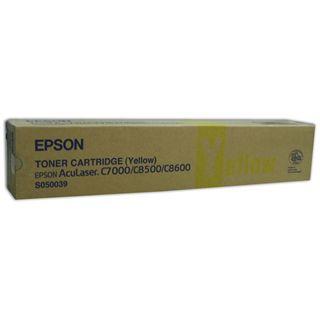 Epson Toner C13S050039 gelb