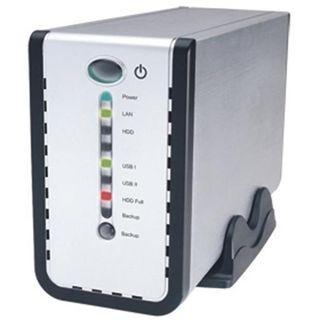 """3,5"""" (8,89cm) Fantec DB-C35 Giga LAN SATA -> USB/LAN Aluminium"""