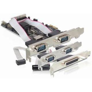 Delock 89177 5 Port PCIe x1 retail