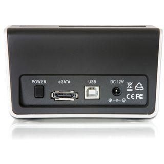 """Delock SATA HDD auf USB2.0/eSATA Dockingstation für 2.5"""" und 3.5"""" Festplatten (61678)"""