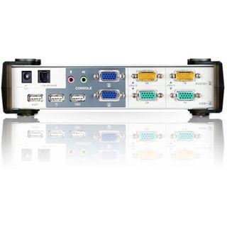 ATEN Technology CS1742 2-fach Desktop KVM-Switch