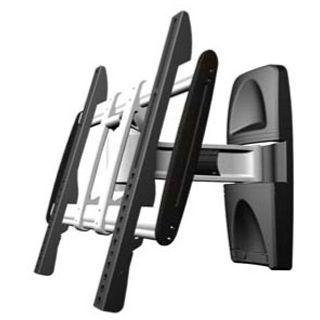 Tronje AR140 Wandhalterung schwarz/silber