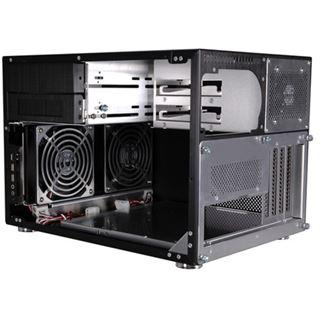 Lian Li Simple & Stylish PC-V351B Wuerfel ohne Netzteil schwarz