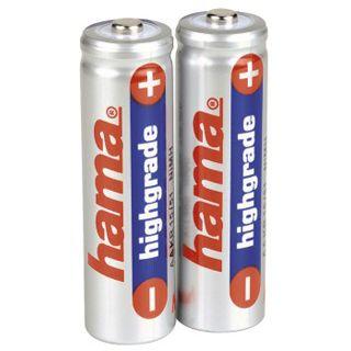Hama Akkus AA / Mignon Nickel-Metall-Hydrid 800 mAh 2er Pack