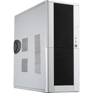 Chieftec Mesh LCX-01SL-SL-B-OP Midi Tower ohne Netzteil schwarz/silber