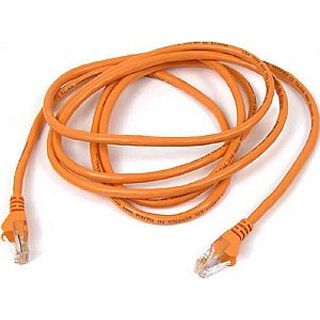 (€15,60*/1m) 0.25m InLine Cat. 6 Patchkabel S/FTP PiMF RJ45 Stecker auf RJ45 Stecker Orange