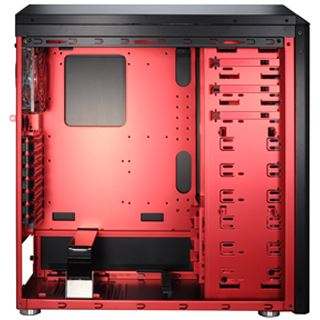Lian Li Armorsuit PC-P50R AMD Edition Midi Tower ohne Netzteil schwarz