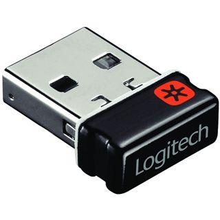Logitech Performance Mouse MX USB schwarz (kabellos)