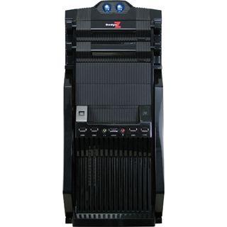 Inter-Tech FX-09M DredgerZ Black Midi Tower ohne Netzteil schwarz