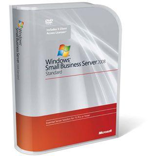 Microsoft Windows Server 2008 Standard SP2 1-4CPU 5 CAL (DE)