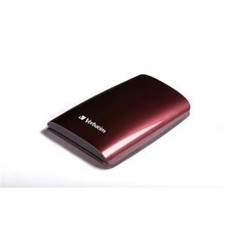 "500GB Verbatim Colour Edition 2.5"" (6.35cm) Rot USB2.0"