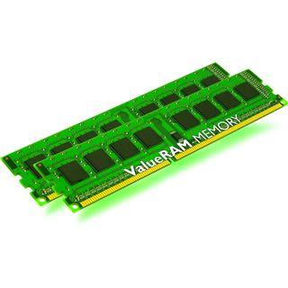 8GB Kingston ValueRAM DDR3-1066 regECC DIMM CL7 Dual Kit