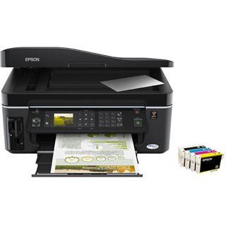 Epson Stylus InkJet BX610FW Multifunktion Tinten Drucker 5760x1440dpi WLAN/LAN/USB2.0