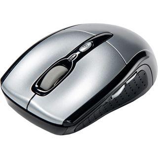 Revoltec Wireless C201 Cordless Optische Maus Silber USB