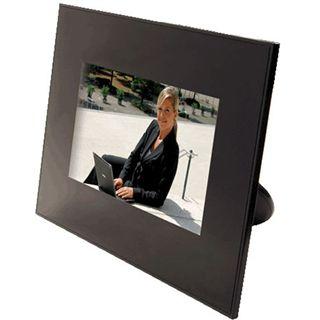 """7,0""""(17,78cm) LogiLink Digitaler Fotorahmen PX0010 480x234 SD Schwarz"""