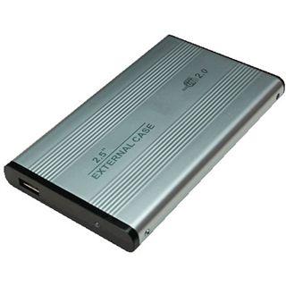 "LogiLink UA0040A 2.5"" (6,35cm) USB 2.0 silber"