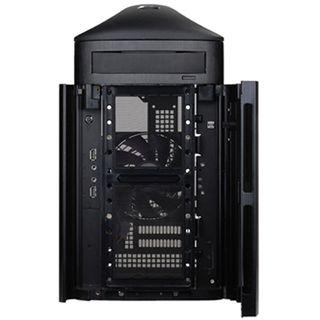 Silverstone Sugo SG04B-FH Mini Tower ohne Netzteil schwarz