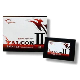 """64GB G.Skill Falcon II 2.5"""" (6.4cm) SATA 3Gb/s MLC asynchron (FM-25S2I-64GBF2)"""