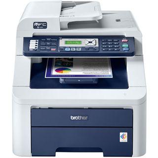 Brother MFC-9120CN Multifunktion Laser Farb Drucker 2400x600dpi LAN/U