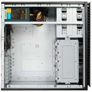 Antec New Solution NSK 6582 -EC Midi Tower 430 Watt schwarz/silber