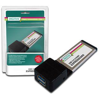 Digitus DS-31220 USB 3.0. 2-Port ExpressCard Add-On card