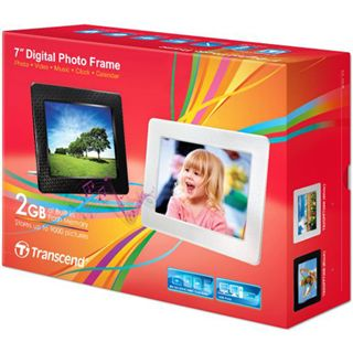 "7,0"" (17,78cm) Transcend Digitaler Fotorahmen PF730 800x600 2048MB Schwarz"