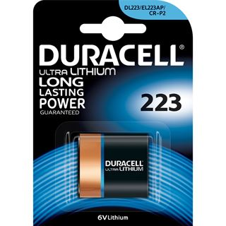 Duracell Photo-Batterie 223 Lithium 6.0 V 1er Pack