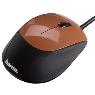 Hama M360 USB braun (kabelgebunden)