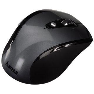 Hama Wireless M2110 Optische Maus Schwarz USB