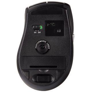 Hama Wireless M3110 Laser Maus Schwarz USB