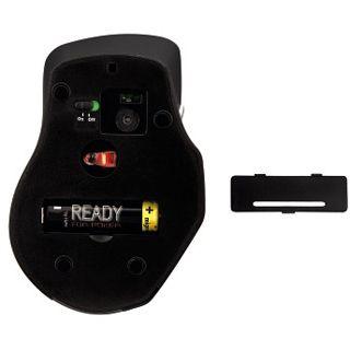 Hama Wireless M2130 Optische Maus Schwarz USB