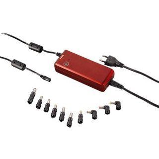 Hama Universal-Notebook-Netzteil, 12-22 V/90 W, rot