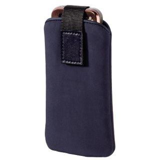 Hama Handy-Köchertasche Velvet Pouch, Blau